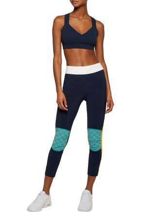 NO KA 'OI Ola embellished stretch sports bra