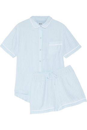 DKNY Striped jersey pajama set