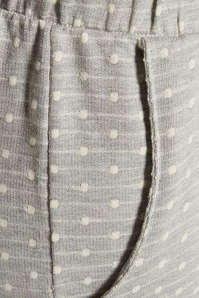 EBERJEY Flynn point d'esprit jersey pajama pants