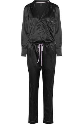 ELLE MACPHERSON BODY Sass stretch-satin jumpsuit
