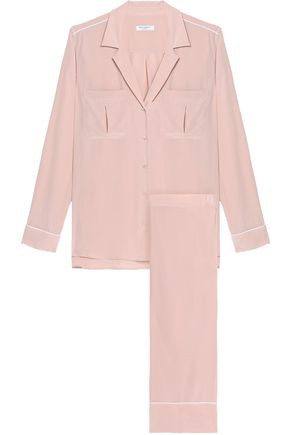 Equipment Woman Sonny Washed-Silk Pajama Set Blush  0e1c0ee7f