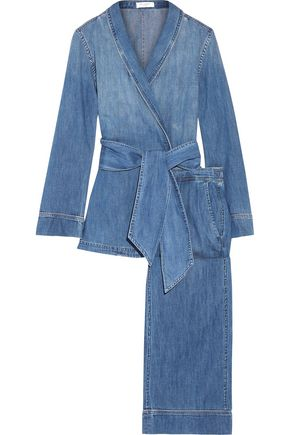 EQUIPMENT Lafayette cotton-chambray pajama set