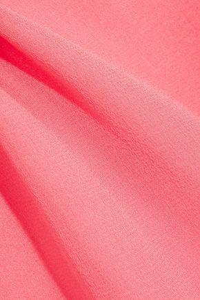 HEIDI KLUM INTIMATES Valerie silk-chiffon and lace chemise