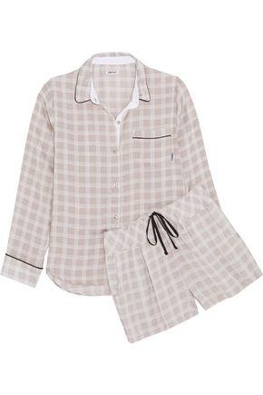 DKNY Printed cady pajama set