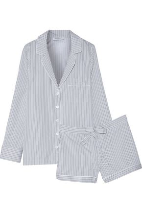 EQUIPMENT Lilian striped cotton pajama set