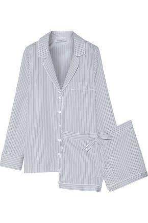 EQUIPMENT FEMME Lilian striped cotton pajama set