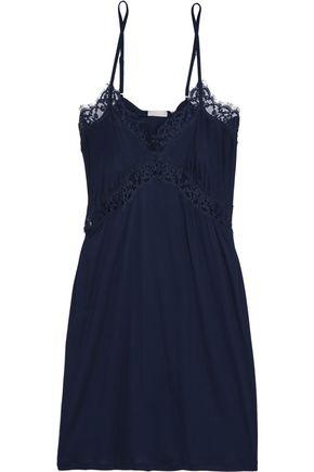 HANRO Livia lace-trimmed modal-jersey nightdress