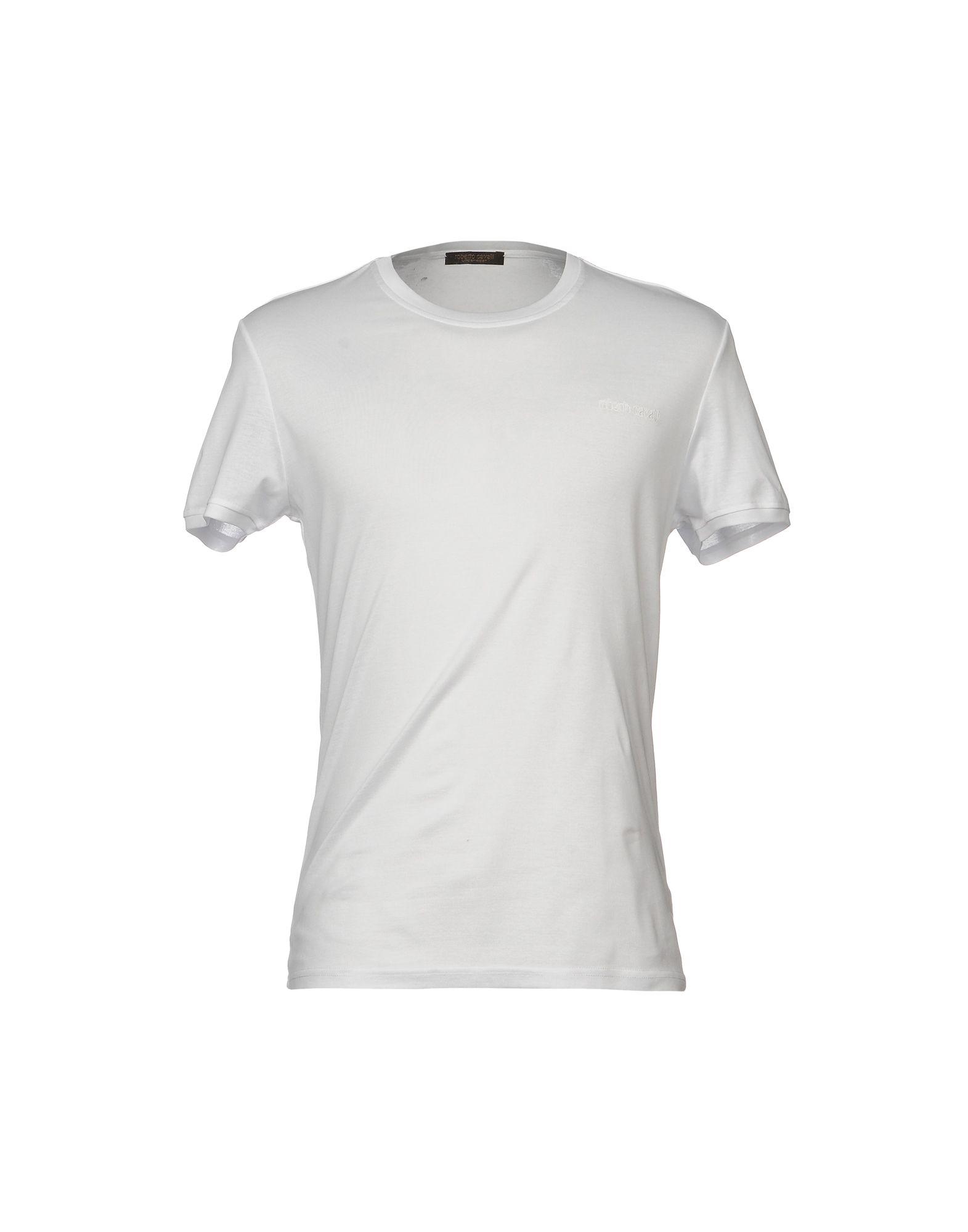 ROBERTO CAVALLI UNDERWEAR Undershirts in White