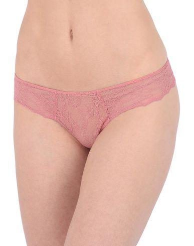 Фото 2 - Трусы-стринги от EBERJEY пастельно-розового цвета