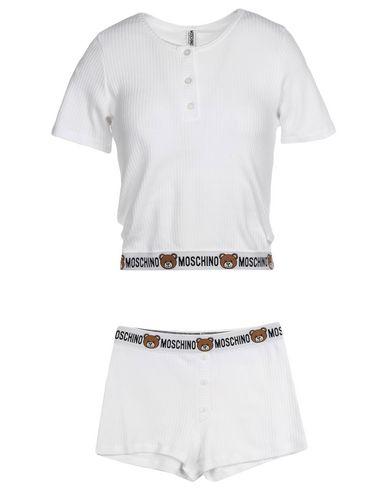 MOSCHINO レディース パジャマ ホワイト S コットン 100%