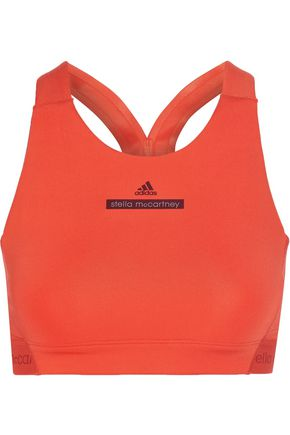 ADIDAS by STELLA McCARTNEY The HIIT cutout printed stretch sports bra