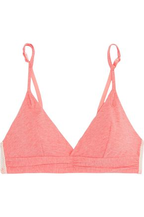 HEIDI KLUM INTIMATES Before Sunrise cotton-blend jersey soft-cup triangle bra