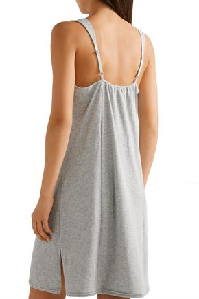 SKIN Pima cotton-jersey nightdress