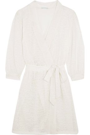 EBERJEY In The Clouds slub jersey robe