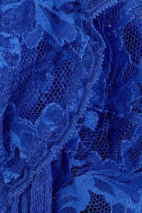 STELLA McCARTNEY Suzi Doting lace soft-cup triangle bra