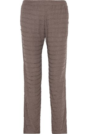 EBERJEY Clyde textured-knit pants