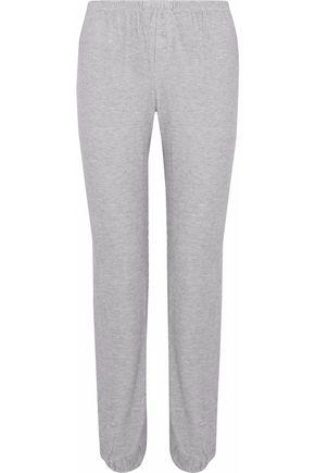 EBERJEY Waffle-knit pajama pants