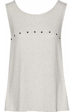 EBERJEY Stud-embellished jersey pajama top