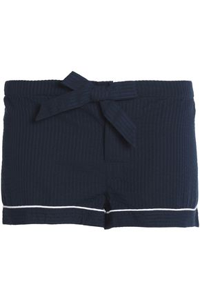BODAS Cotton-twill pajama shorts