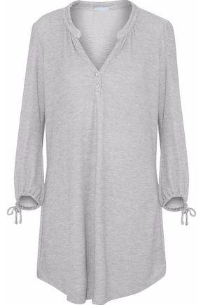 EBERJEY Waffle-knit nightshirt