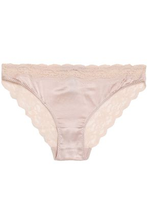 STELLA McCARTNEY Silk lace briefs