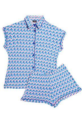 COSABELLA Printed modal-blend jersey pajama set