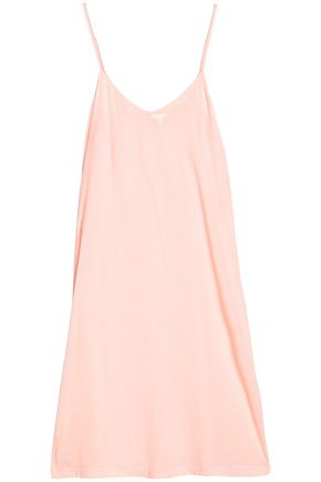 SKIN Gathered jersey nightdress