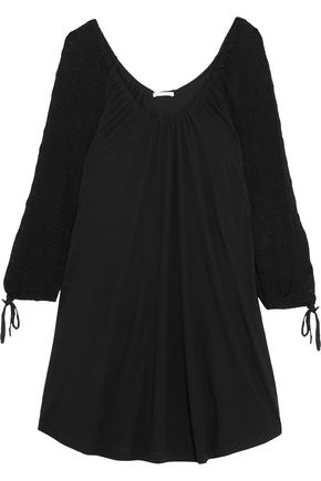 EBERJEY Rosette stretch-jersey nightdress