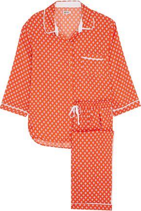DKNY Capri printed jersey pajama set