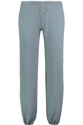 EBERJEY Earl modal-blend jacquard pajama pants