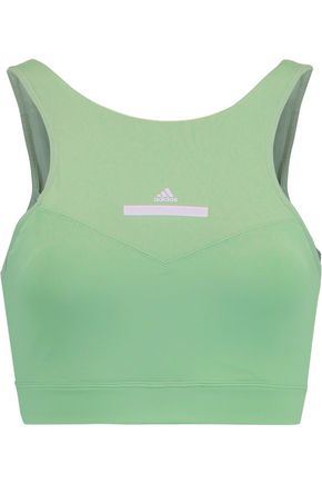ADIDAS by STELLA McCARTNEY High Intensity cutout stretch-knit sports bra