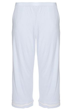 SKIN Cropped cotton streight-leg pants