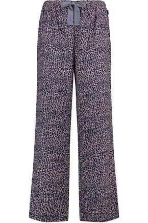 CALVIN KLEIN UNDERWEAR Printed brushed-cotton pajama pants