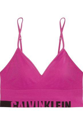 CALVIN KLEIN UNDERWEAR Stretch-jersey soft-cup bra