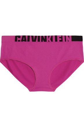 CALVIN KLEIN UNDERWEAR Mid-rise stretch-jersey briefs