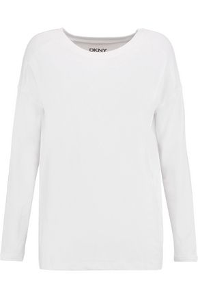 DKNY Pima cotton-blend top
