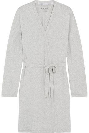 DKNY Stretch-cotton jersey robe