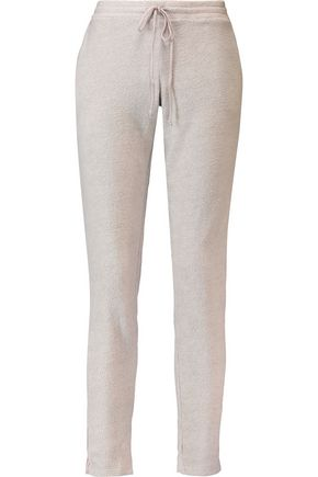 EBERJEY Norman modal-blend fleece and jersey pajama pants