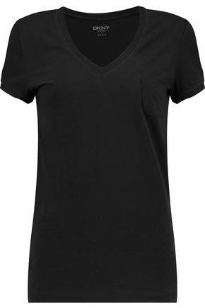 DKNY Stretch-Pima cotton T-shirt