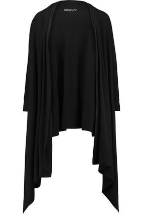 DKNY Stretch-modal cardigan