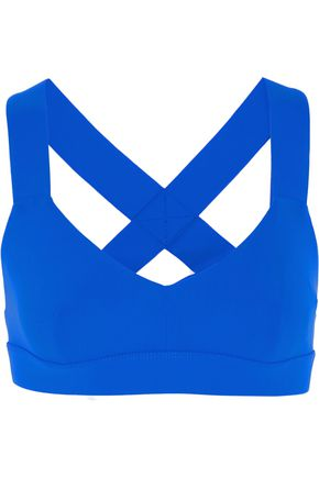 NO KA 'OI Ola stretch-jersey sports bra