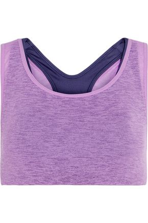 NIKE NikeLab Essentials layered stretch-jersey sports bra