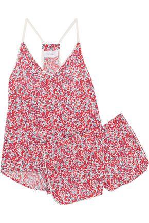 THREE J NYC Sienna printed cotton-poplin pajama set