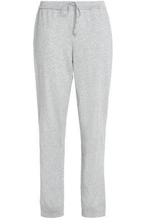 SKIN Pima cotton-jersey track pants