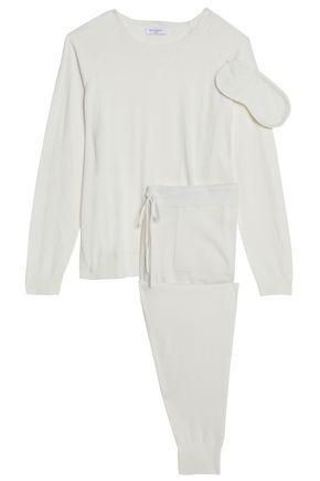 EQUIPMENT Knitted pajama set