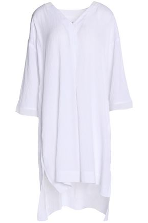 DKNY Draped broadcloth nightshirt