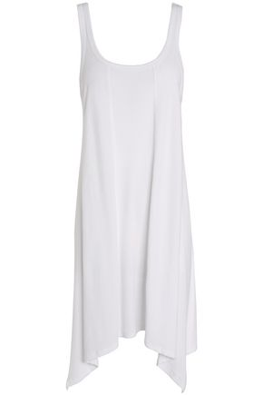 DKNY Draped stretch-cotton jersey night dress