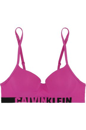 CALVIN KLEIN UNDERWEAR Layered stretch-jersey balconette bra