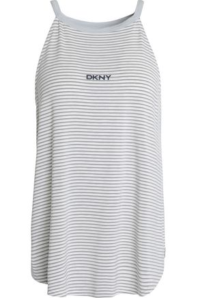 DKNY Stretch-modal jersey pajama top