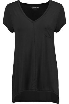 DKNY Urban Essentials stretch-modal jersey pajama top